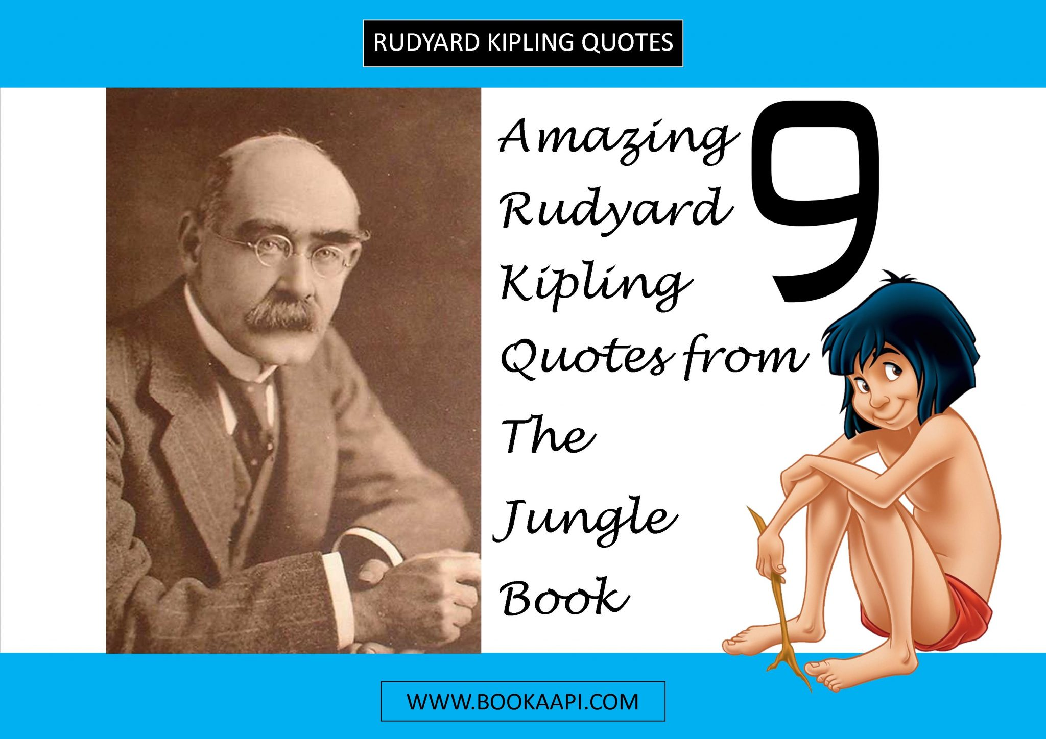 Jungle Book Quotes 9 Amazing Rudyard Kipling Quotes From The Jungle Book