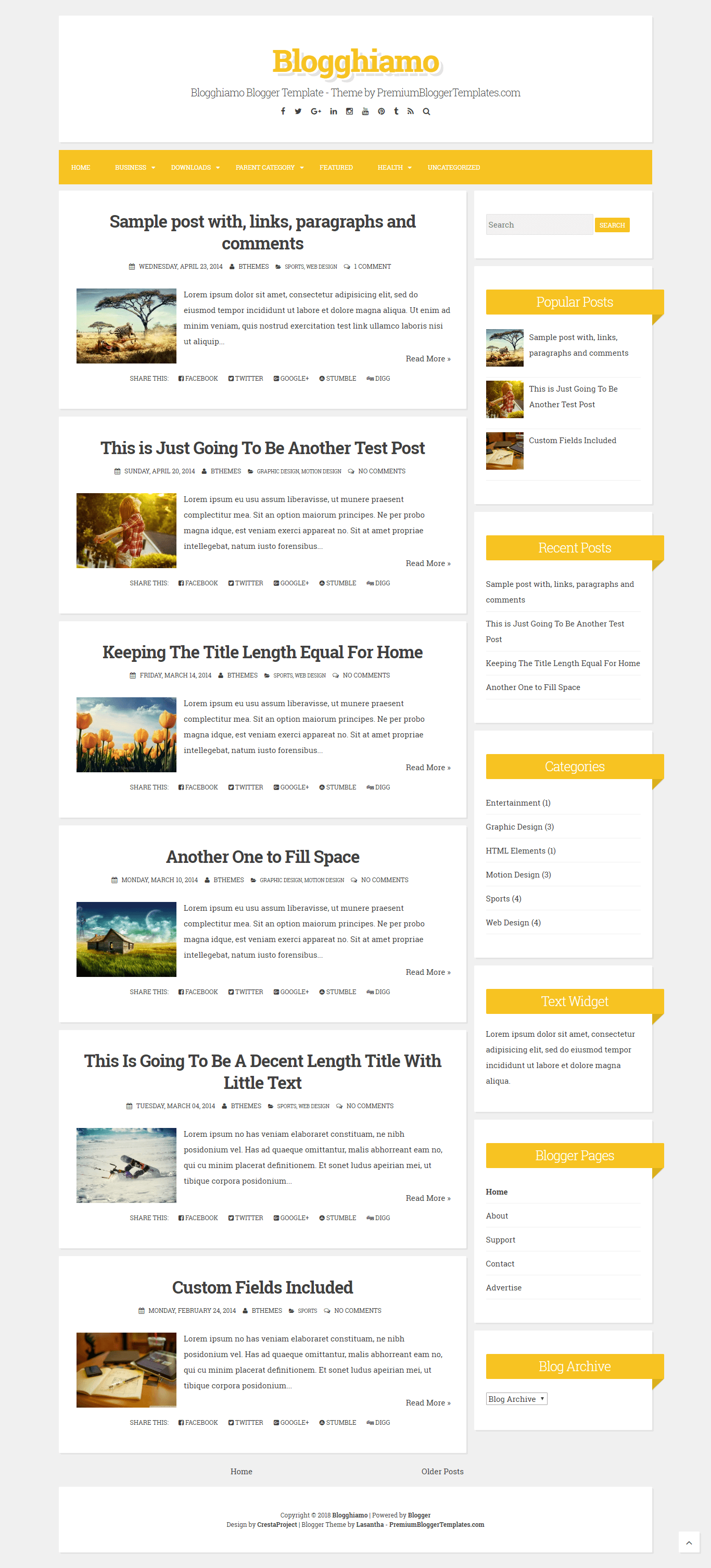 Make Your Book Blog Look Pretty With These Free Blogspot Templates